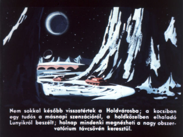 Not much later, they returned to Moon city; a scientist in the vehicle mentioned the sensational news of the next day, the Luna probe passing by the Moon; tomorrow, everyone would be able to see it through the telescope of the great observatory.